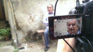 Carlos Barros.Entrevista gravación documental