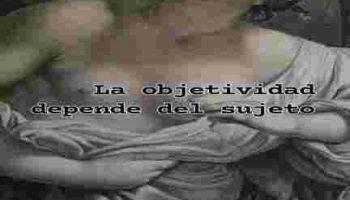 objetividad