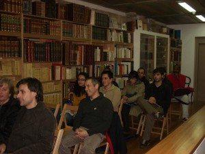 Presentación en Santiago